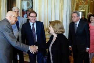 I Garanti ricevuti da Napolitano