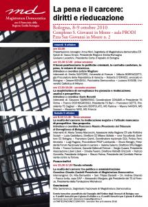 La pena e il carcere: diritti e rieducazione