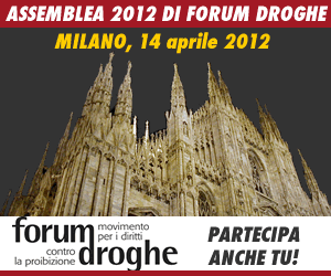 Assemblea 2012 di Forum Droghe