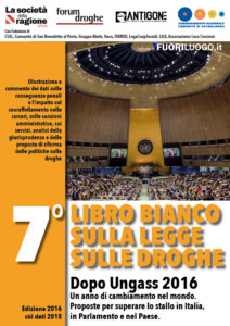 Droghe, il Libro Bianco spinge la riforma