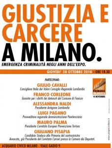 Giustizia e Carcere a Milano