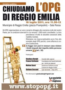 Chiudiamo l'OPG di Reggio Emilia