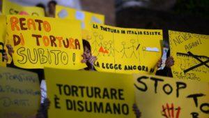 Tortura: l'Italia non può più aspettare.