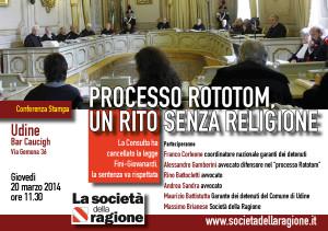 Processo Rototom, un rito senza religione